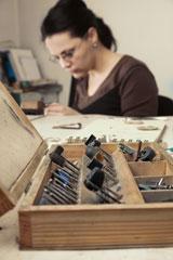 jeweler's studio